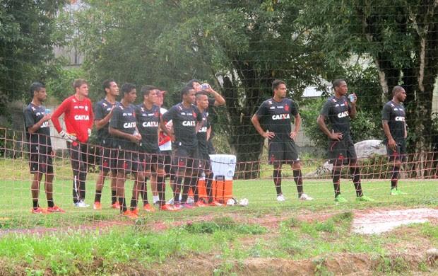 jogadores treino Flamengo (Foto: Fabio Leme)