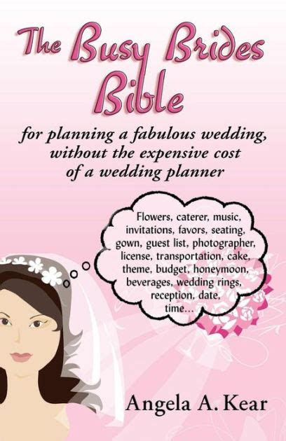 busy brides bible  planning  fabulous wedding