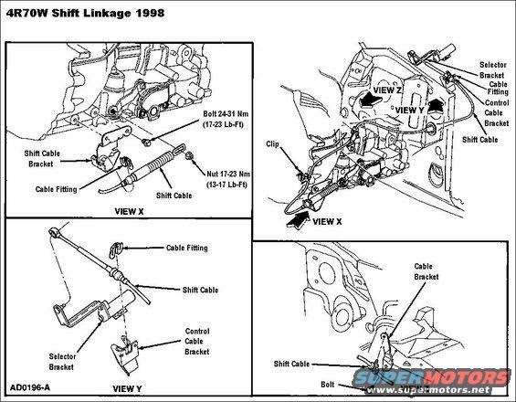 [Exploded View Of 1999 Ford Crown Victoria Manual Gearbox ...