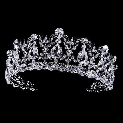 Beautiful sparkling vintage rhinestone & cz bridal tiara
