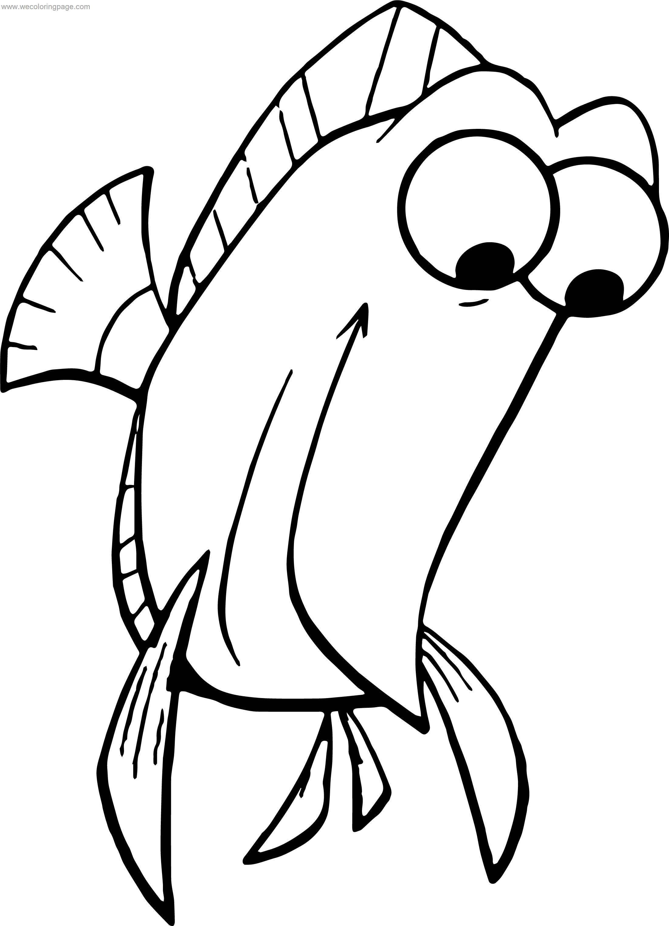 Disney Finding Nemo Tall Fish Coloring Pages ...