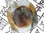 Votive eye dedicated by the Kassite king Kurigalzu to the god Zababa. (Louvre, AO 23994)