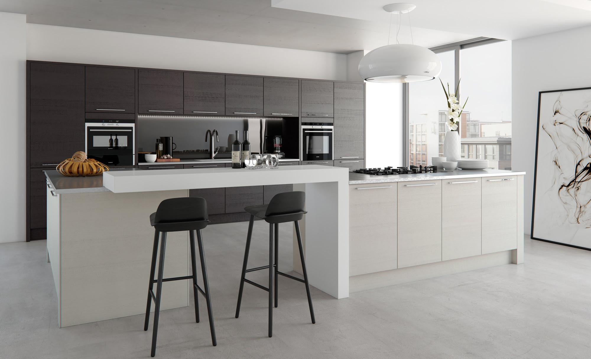 Kitchen Extraordinary Kitchen Themes And Modern White ...