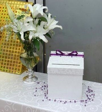 Wedding Envelope Box