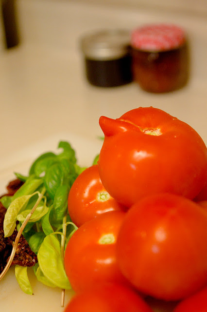 tomato with horn