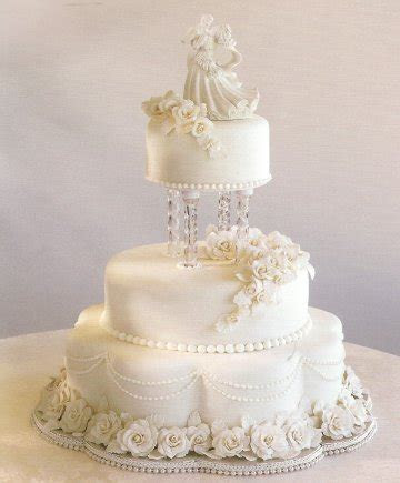 Fondant Wedding Cake   Make a Wedding Cake