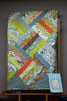 Jelly Roll Quilt – b