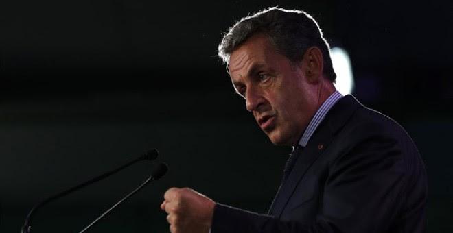 El expresidente francés Nicolas Sarkozy.- REUTERS