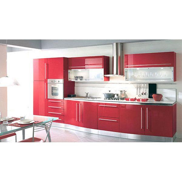 China Red Lacquer Kitchen Cabinets Manufacturers Suppliers Factory Made In China Oke