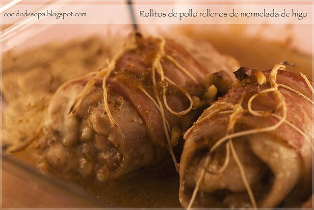 Rollitos pollo mermelada higo_00