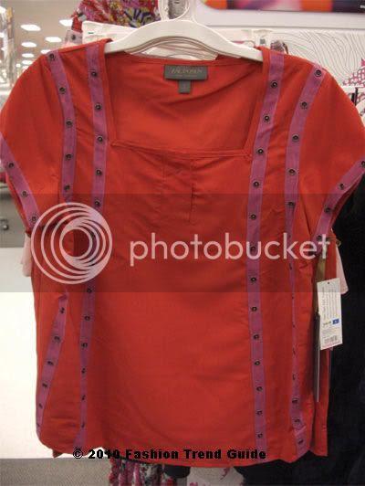 Zac Posen for Target red t shirt