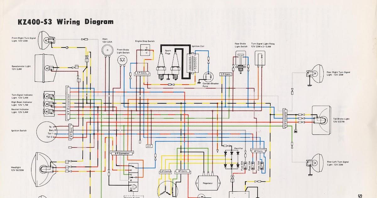 Wire Diagram 1979 Kawasaki - Complete Wiring Schemas