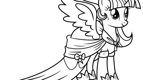 My Little Pony Cadence Coloring Pages At Getdrawingscom Free For