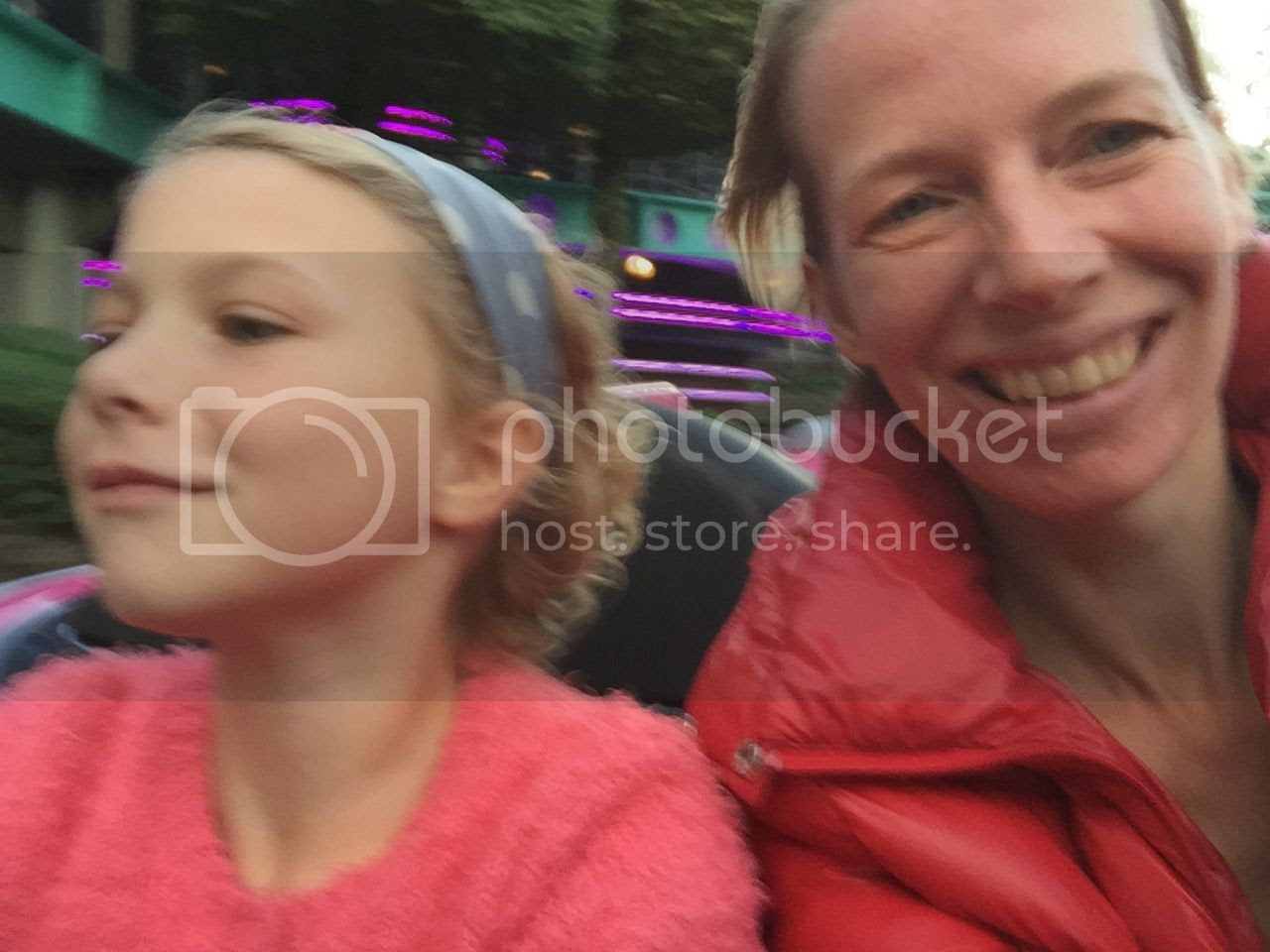 photo Fiene driving the car in autopia in Disneyland.jpg