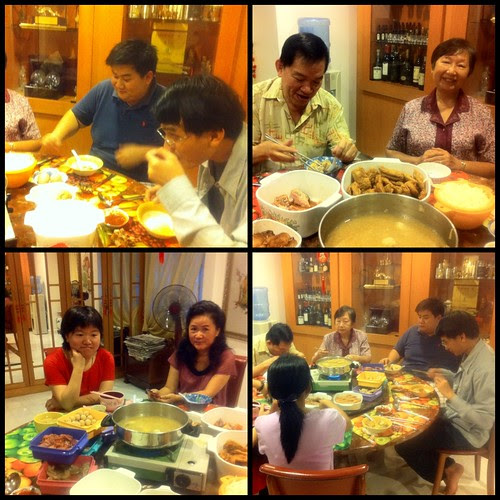 Belated birthday celebration dinner (March 7, 2011)