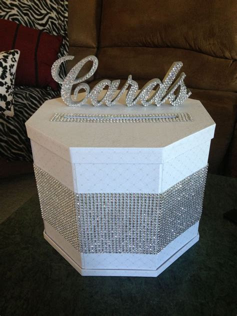 7 best images about wedding box for cards on Pinterest