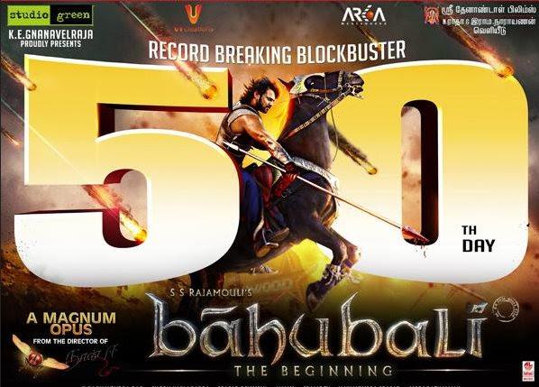 Baahubali-50 days and 600 Crores!
