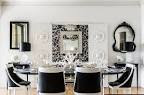 dining room. Gorgeous Black and White Dining Rooms: Impressive ...