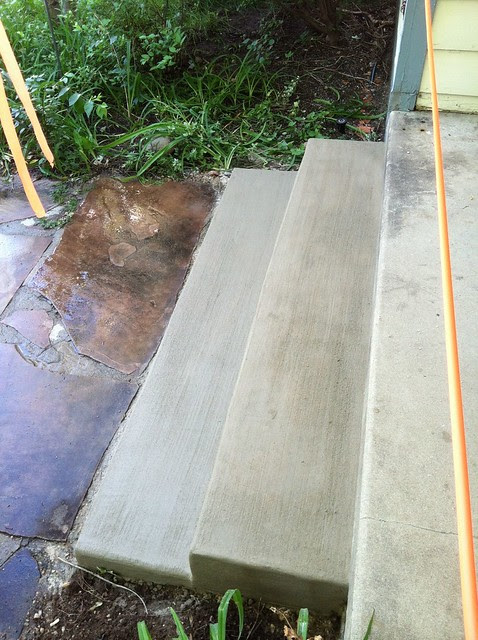 Front Step after repair