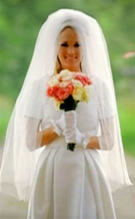 10. Carrie Underwood from Best Wedding Dresses From Music