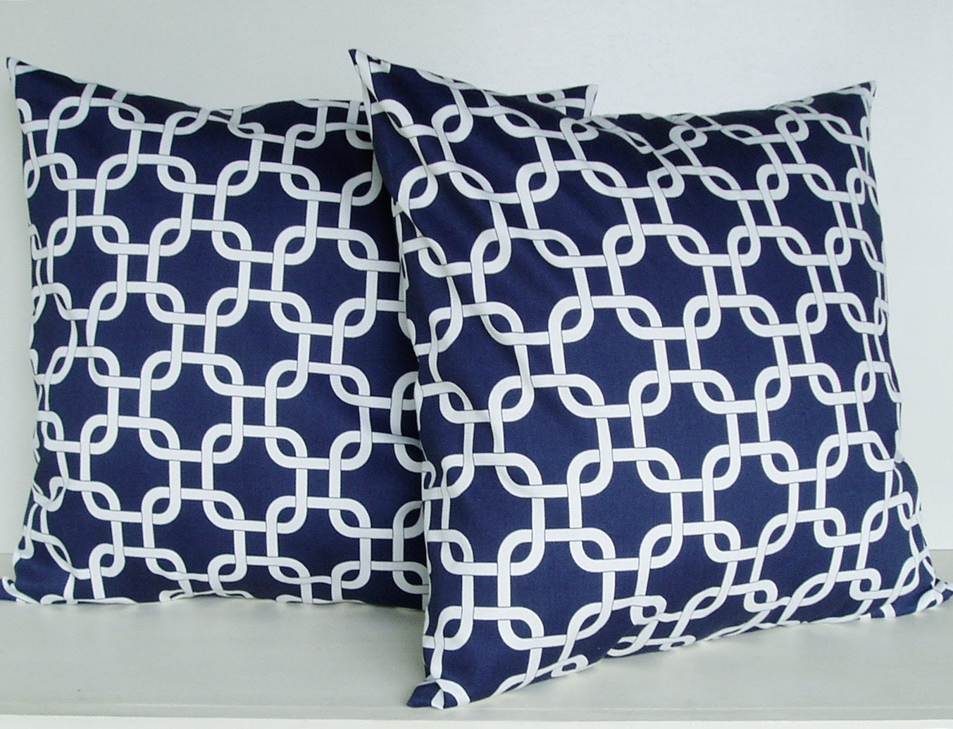 Popular items for navy pillow covers on Etsy