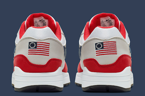 ef7d7973a12 This Nike Air Max 1 For Independence Day Honors The Betsy Ross Flag