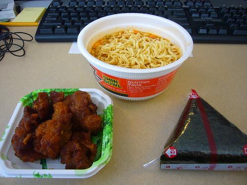 Desk-Lunch