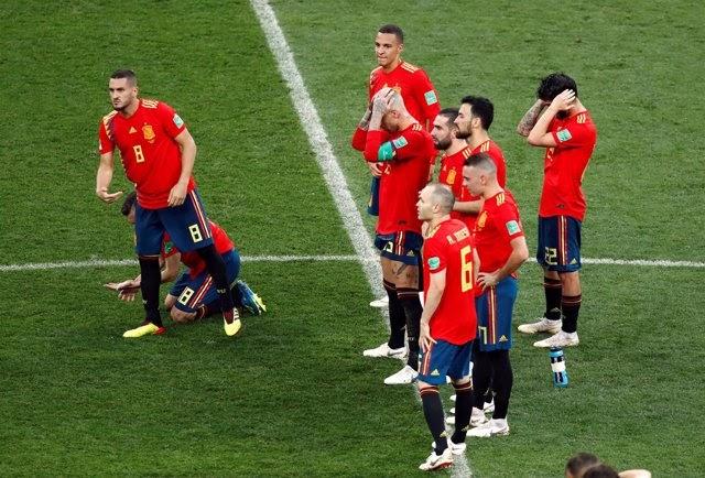 España repite desastre Mundial