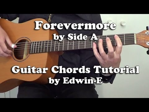 Acoustic Guitar Plucking Etc Guitar Tutorial Forevermore By Side