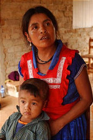 inez ramirez bersama anak