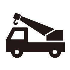 ユニック車シルエット イラストの無料ダウンロードサイトシルエットac