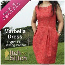 MarbellaDressPDFSewingPattern250x250