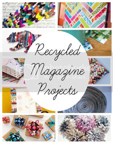 Diy home sweet home recycled magazine projects - How to reuse magazines seven inspired ideas ...
