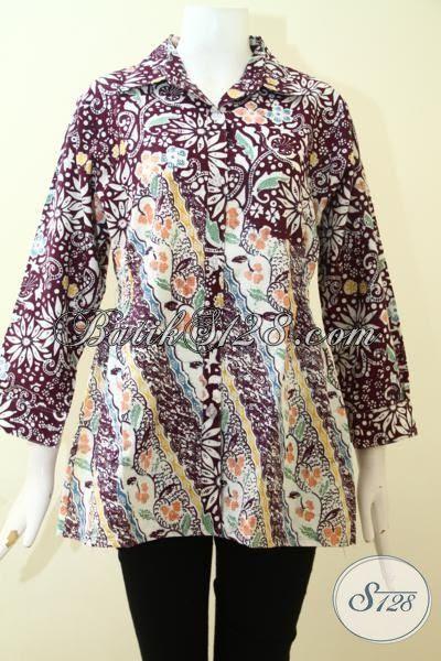 Model  Baju Batik Wanita Lengan Panjang Toko Batik Online