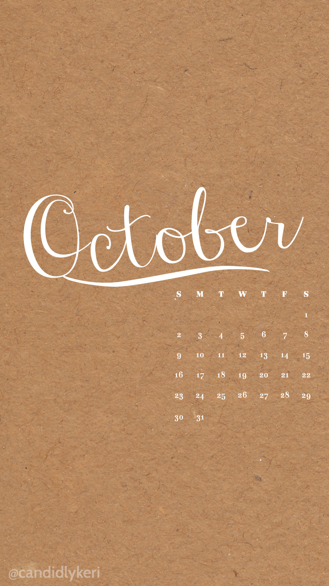 Desktop Wallpapers Calendar October 2018 57+ images