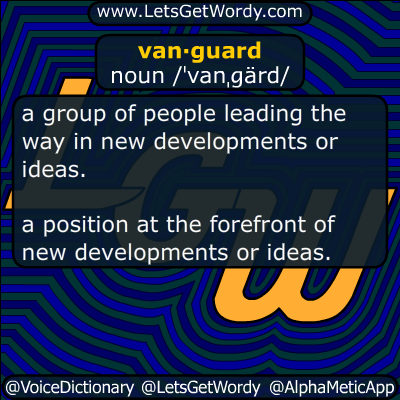 vanguard 08/29/2018 GFX Definition