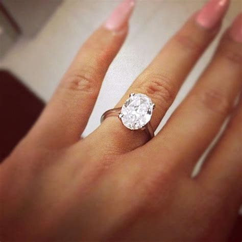 Amber Rose's Engagement Ring   Engagement 101