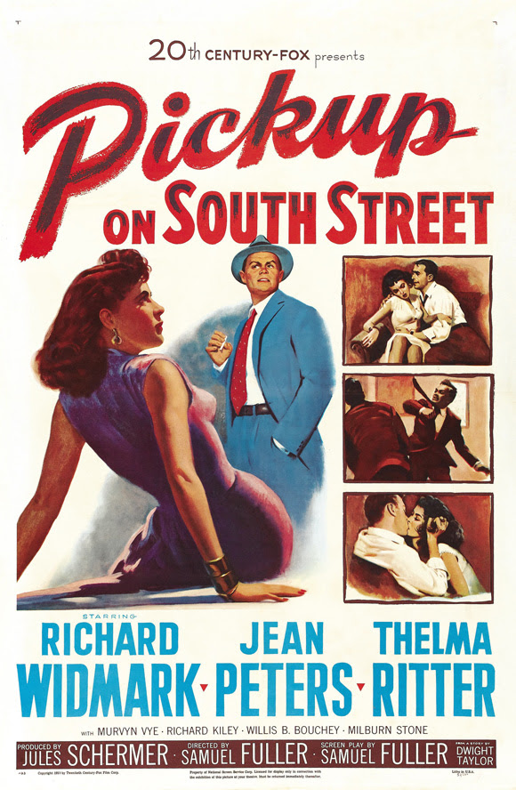 Resultado de imagem para pick up on south street poster