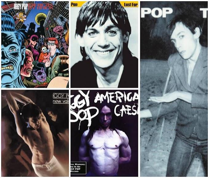 Cinco discos para descubrir a Iggy Pop