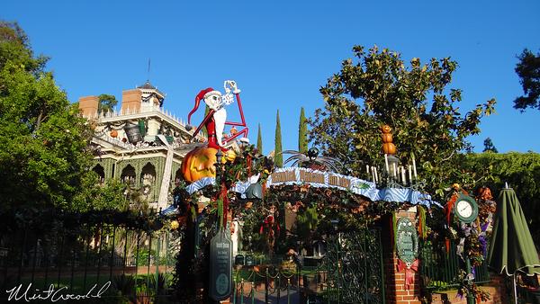 Disneyland Resort, Disneyland, New Orleans Square, Haunted Mansion Holiday, Halloween Time