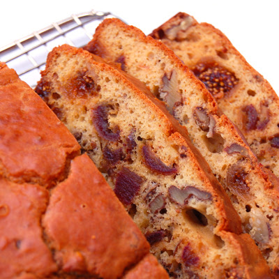 Fig, Walnut and Date Bread