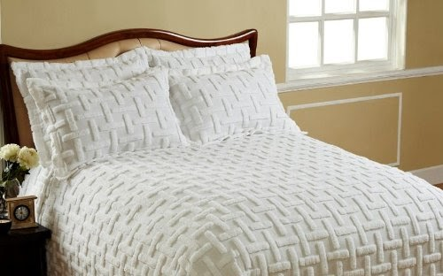 Save Cody Direct Chronos Cotton Chenille Bedspread King