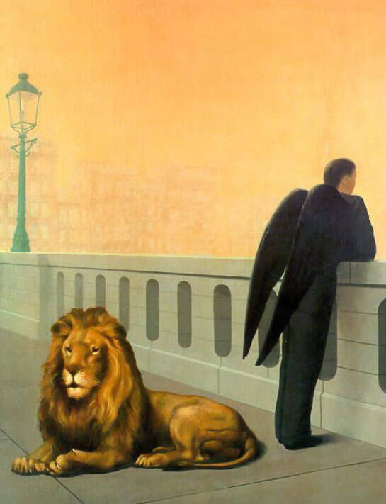 Homesickness, 1940 by Rene Magritte