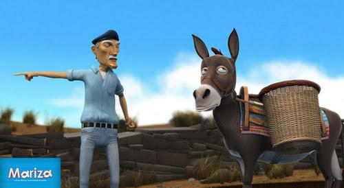 Mariza, un film d'animation de Constantine Krystallis * Ο Πεισματάρης Γάιδαρος