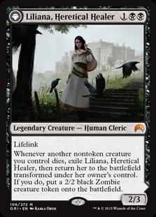 Liliana, Heretical Healer