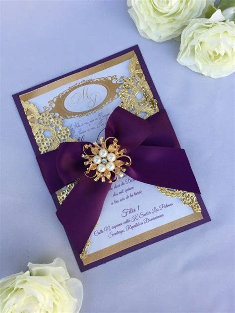Best 25  Purple gold weddings ideas on Pinterest