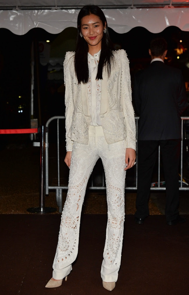 6 Liu Wen in Roberto Cavalli@RC Dinner Party in Cannes 2013-05-22
