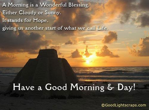 Have A Good Morning Day Daily Inspirations For Healthy Living