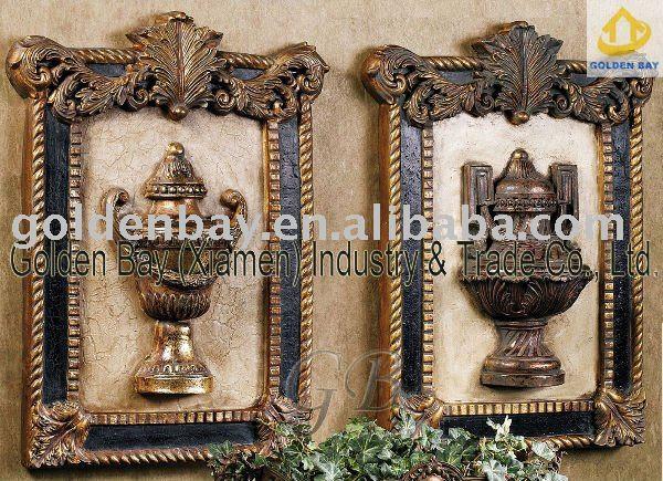 Home decor resin wall sculpture,View Antique resin sculpture ...