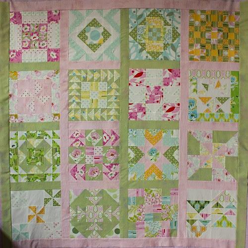 Block-a-palooza top finished
